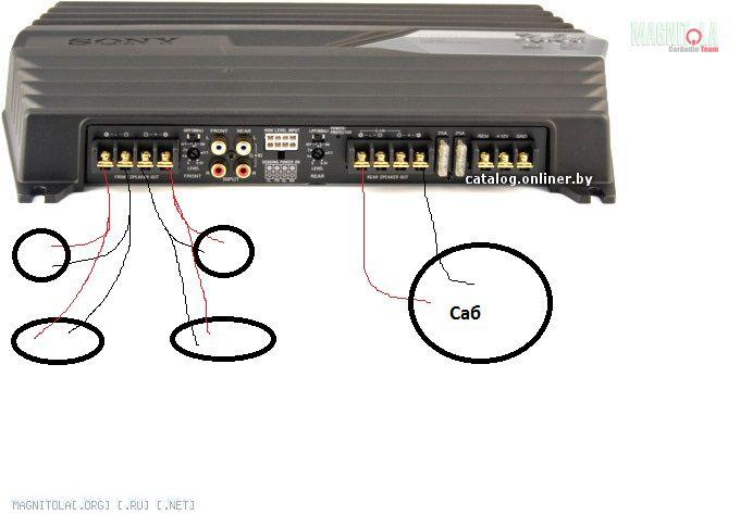 Sony xm gtx6040 схема