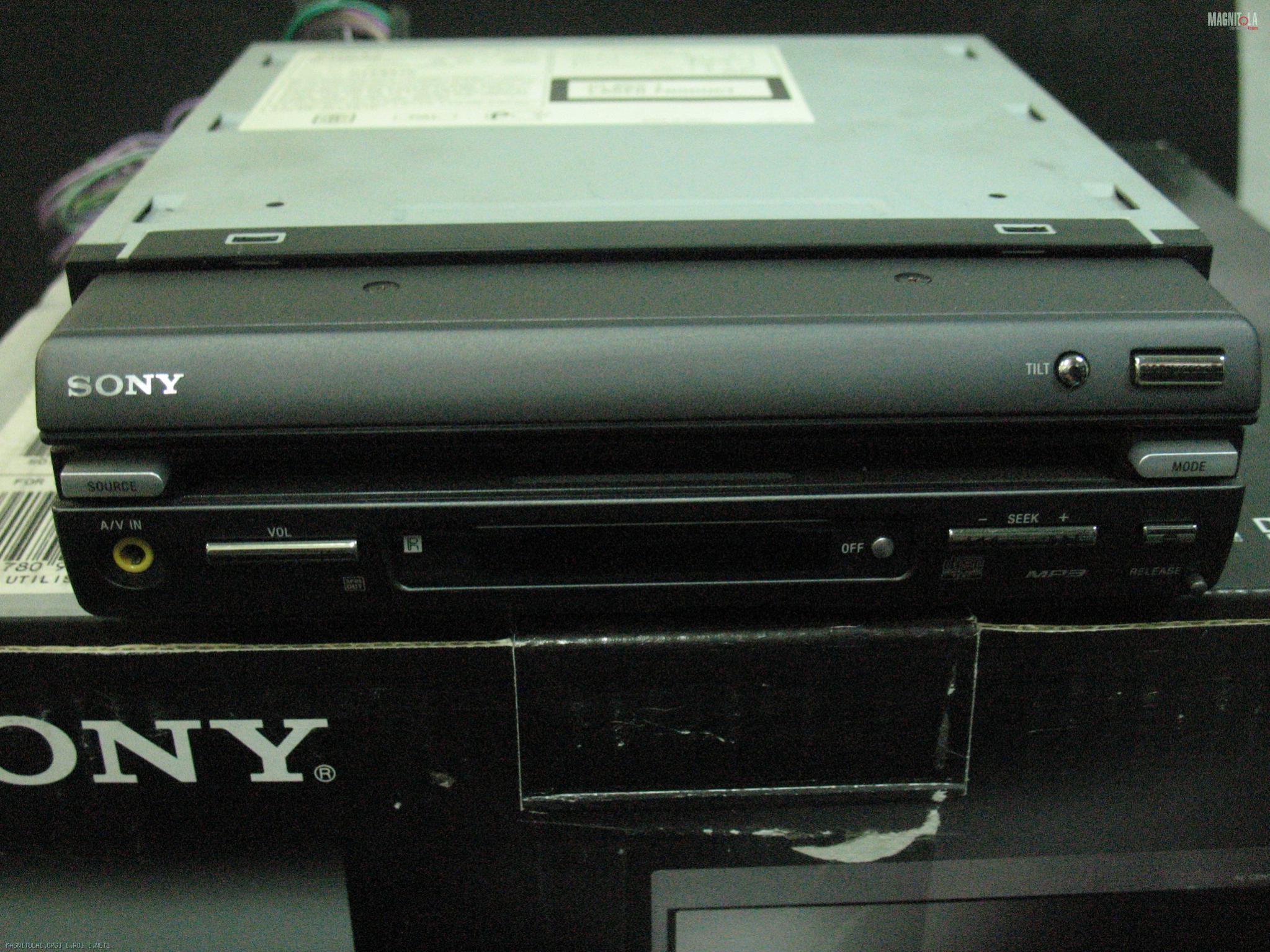 Sony Xav A1