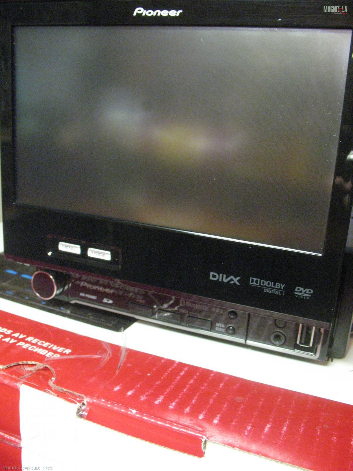 pioneer avh-p6300bt инструкция