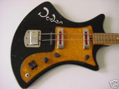 Гитара «Урал» была разработана