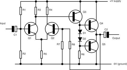 Нажмите на изображение для увеличения Название: Amplifier_Circuit_Small.png Просмотров: 39353 Размер:25.0 Кб ID:182485