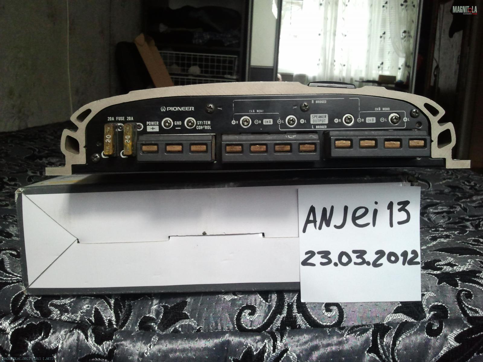 Pioneer Gm D Car Audio  Channel Amp Amplifier W Rms Reviews