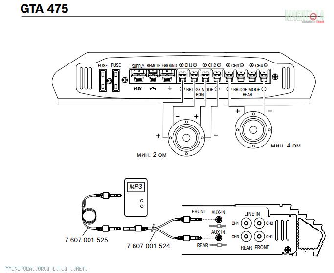 Gta 475 blaupunkt инструкция