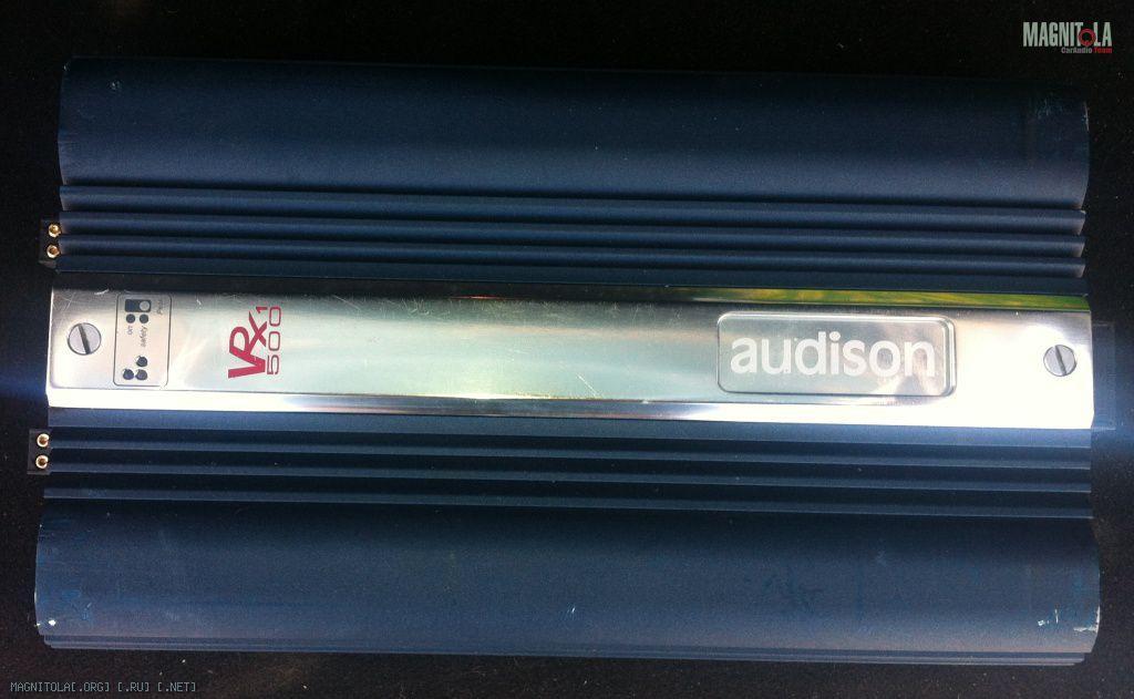 audison vrx 1.500.2