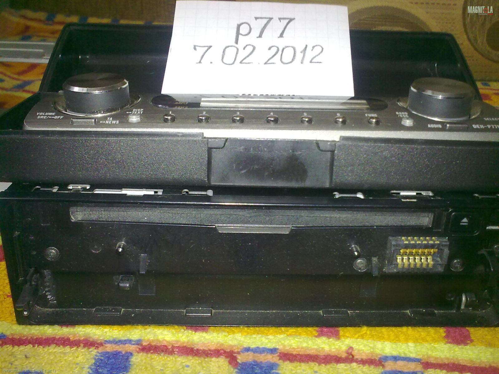 Pioneer Deh P77mp Инструкция