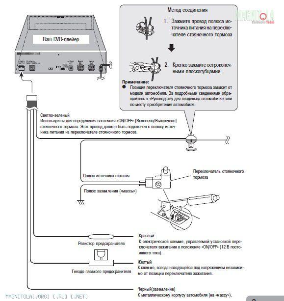 Re: Подключение Pioneer XDV P9