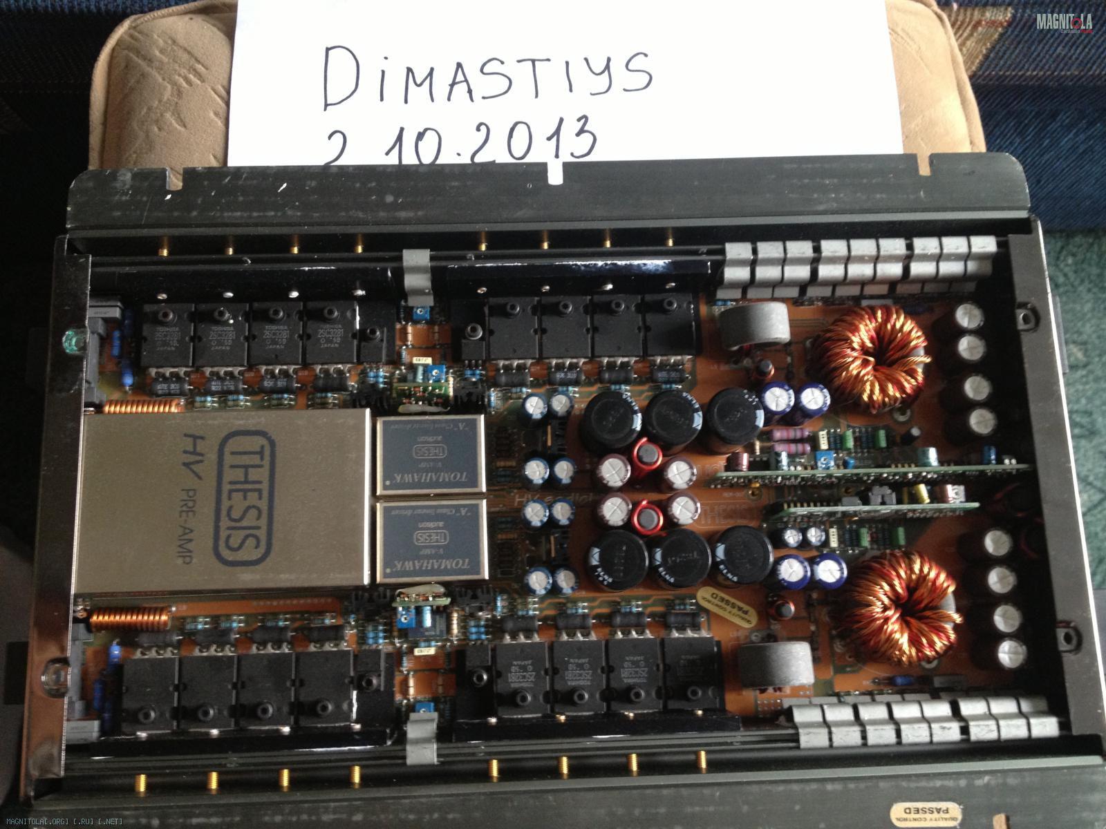 audison thesis hv venti amplifier
