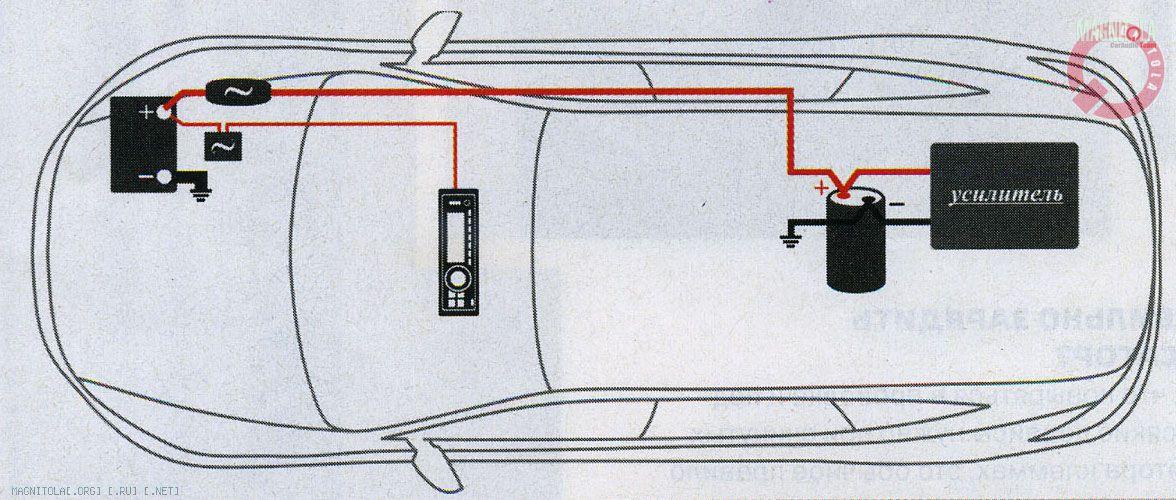 как подключить конденсатор к