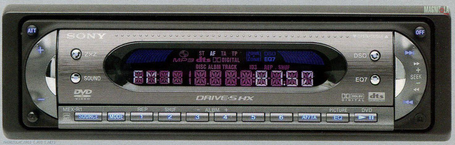 Линейных выходов звука у Sony