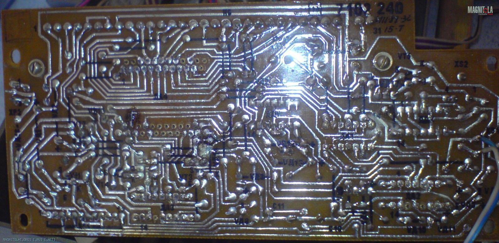 усилитель электроника эф-017-стерео описание схема