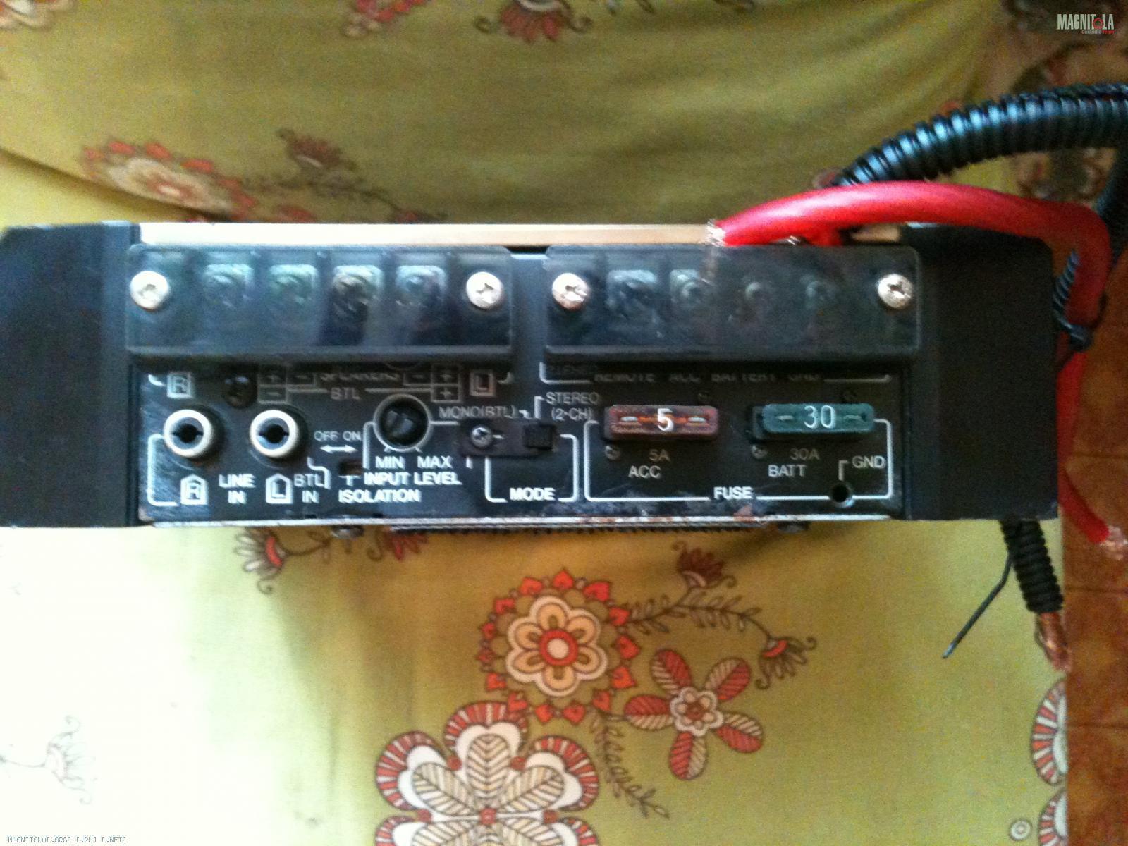 KИT PA-500 S Первый усилитель фирмы Нева Аудио 1991г.