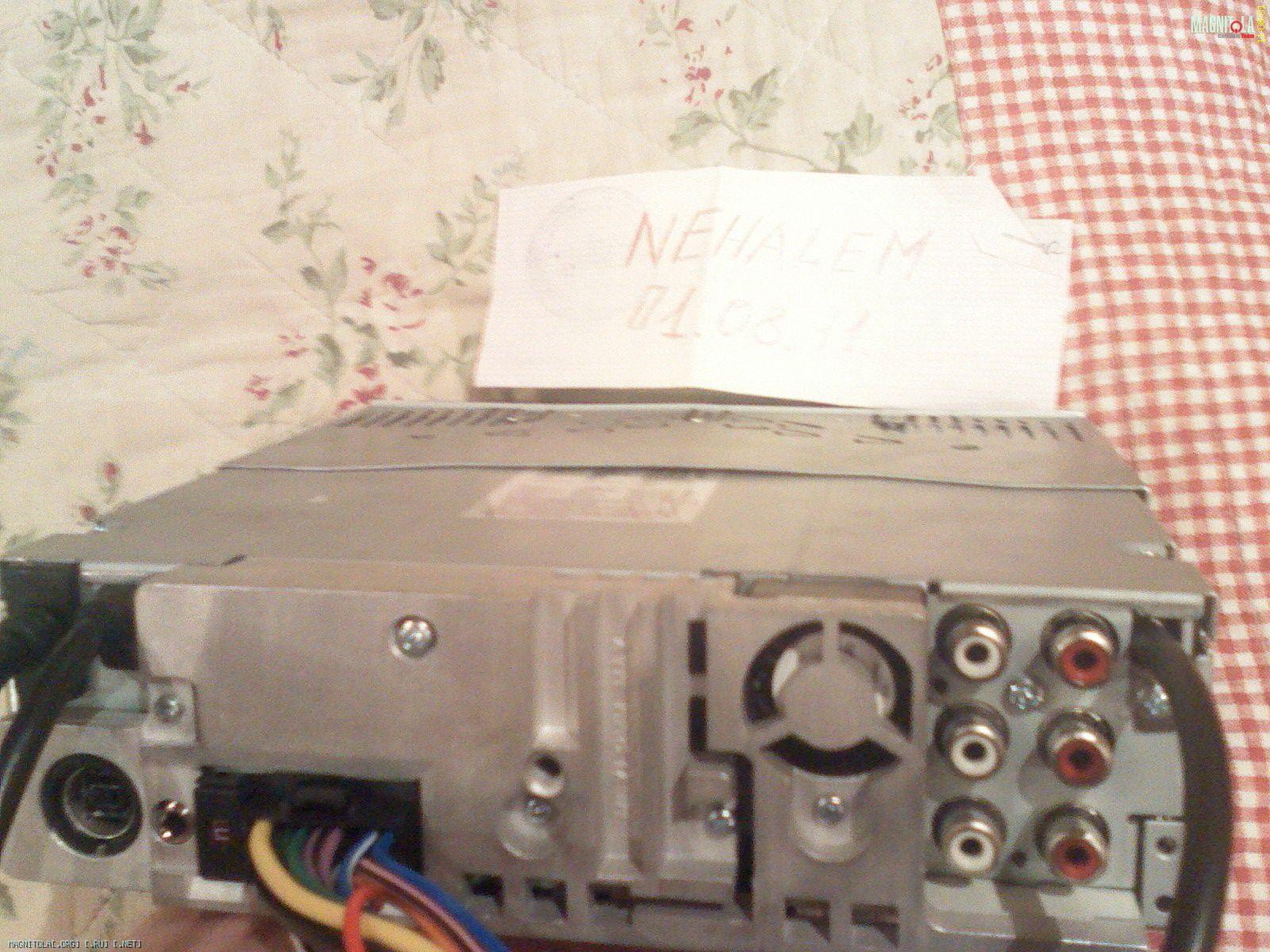 схема подключения магнитола toyota 86120-2a300