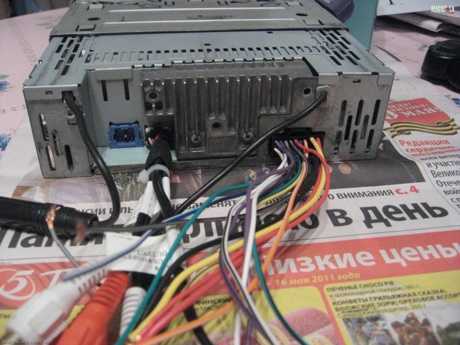 Инструкция к автомагнитоле pioneer den p80mp