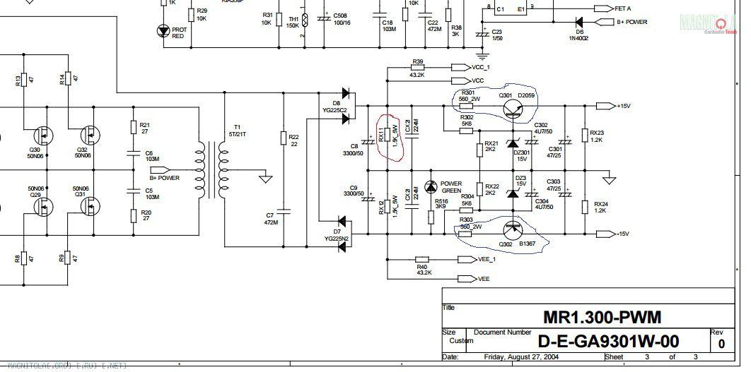 Mystery mac-300 схема